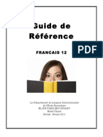 player pdf french 12 study guide aka bible