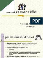 Manejo del paciente difícil
