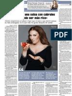 Mónica Naranjo - La Nueva España - 17.11.13