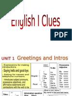 0.- English I Clues - WorldLink