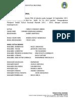 laporan kegiatan BFN