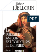 Tahar Ben Jelloun, Le 1er Amour Est Tjrs Le Dernier
