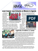 House of Friends newsletter May 2009