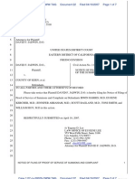 22 Pleading - Notice of Filing of POS - 6 KMC Defs - REFILED