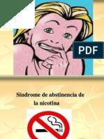 Sindrome de Abstinencia (Taller Fumadores)