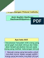 2-Potensi individu