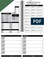 Cortex RPG Character Sheet