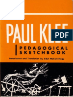 Klee Paul Pedagogical Sketchbook 1953