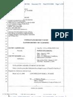 172 D Notice of Lodging - RFA1