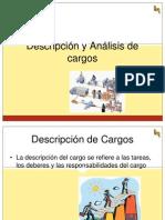 Unidad III Descripcion y Analisis de Cargo