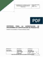 CriteriosAcreditacionOrganismosCertificacionProductos