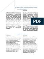 Características de entre bases de datos Centralizadas y Distribuidas