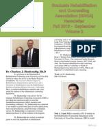 GRCA Fall 2013 Newsletter_September Volume 2