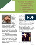 GRCA Fall 2013 Newsletter_October Volume 2