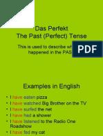 Past (Perfect) Tense German Verbs
