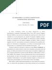 EL INDIANISMO Y LA  NUEVA CONSTITUCIÓN PLURINACIONAL BOLIVIANA Salmon