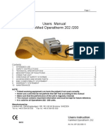 Operatherm Operators Manual