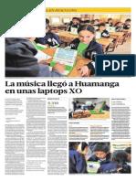 EDUCACION DIARIO EL COMERCIO INCLUSION DIGITAL LAPTOPS X0 EN ESCOLARES DE AYACUCHO