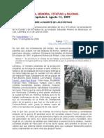 Sobre la muerte de las estatuas. Por Yves Moñino.