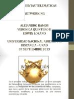 07 Septiembre 2013- NETWORKING