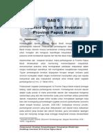 Bab 5 Analisa Daya Tarik Investasi Papua Barat