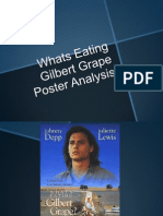 Whats Eating Gilbert Grape Poster Analysis