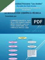 Mapa conceptual - Revolución científica-técnica