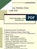 Tafakur Meditasi Islam Abah Didi