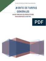 Reglamento de Tarifas Generales2