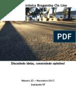 Revista Eletrônica Bragantina On Line - Novembro/2013