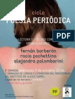 10 Poster Espacio Ciclo Poesia Periodica