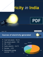 PPT Electricity in India