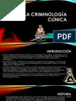 La Criminología clínica
