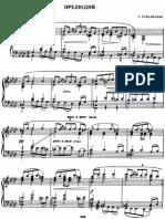 Sheet Music - Piano - Arno Babadzhanian - Op. 1 No. 1 Prelude [Score Scores Partition Partitions Spartiti Noten Partitura Partituras]