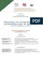 Kolokwium Antropologia Historii