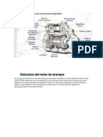 Estructura Del Motor de Arranque