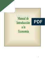 Manual de Introduccion a La Economia
