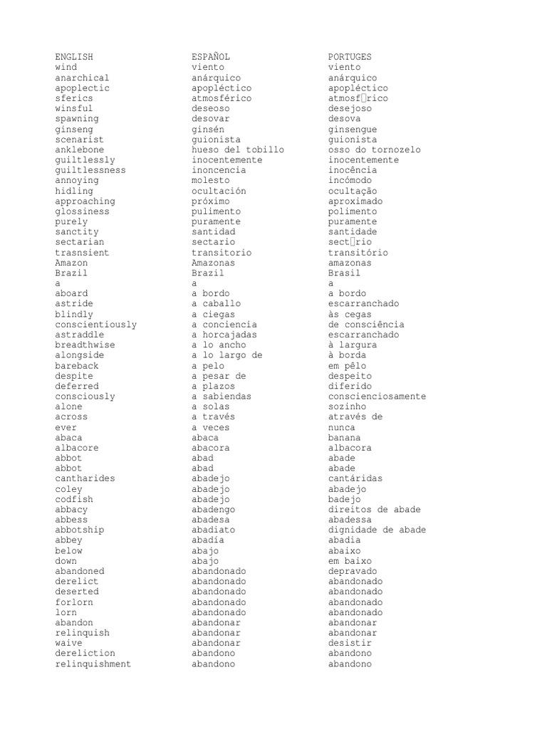 27658725 Diccionario Ingles Espanol Portugues 2 b72cff10359
