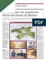 El diseño de Mistura 2012 'conversará' con el espacio y el público