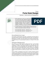 Forte Hotel Design Case (Conjoint)