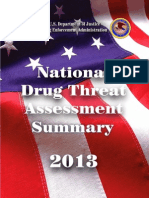 DEA 2013 National Drug Threat Assessment