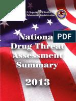 DEA 2013 National Drug Threat Assessment