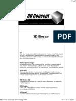 3D Glossar