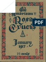 The American Rosae Crucis, January 1917