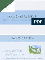 mus 463 week 8 copy