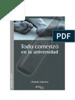 TODO COMENZÓ EN LA UNIVERSIDAD - ORLANDO MAZEYRA GUILLÉN