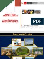 Marco Legal Ambiental Pequeña mineria y mineria artesanal