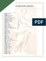 Pequeño diccionario latín - español
