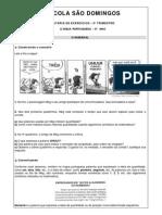 exercícios de português sobre números, verbos, pronomes, etc.