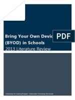 BYOD 2013 Literature Review
